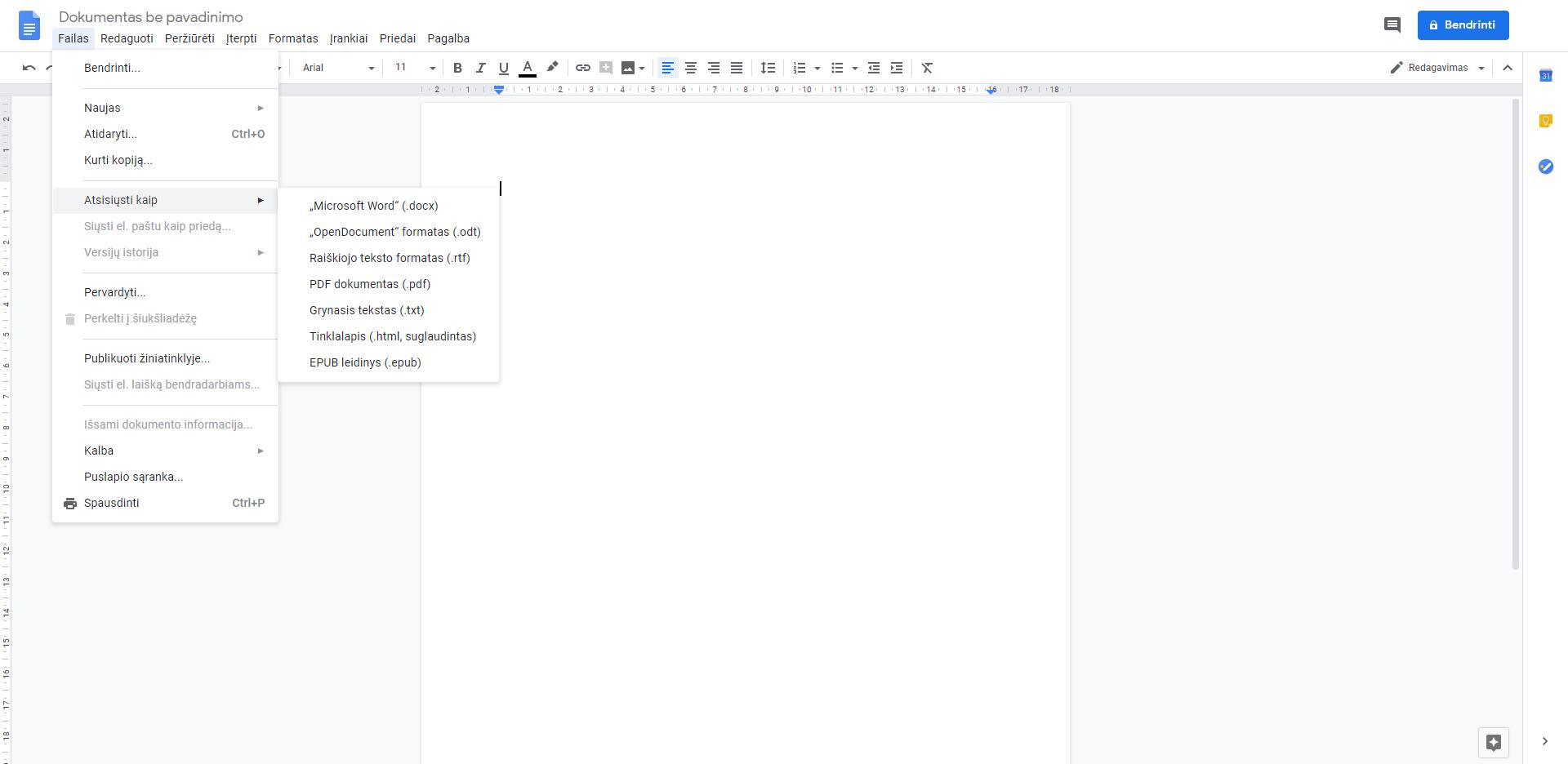 google doks pdf redagavimas