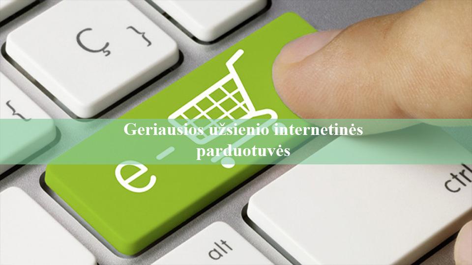 internetines parduotuves