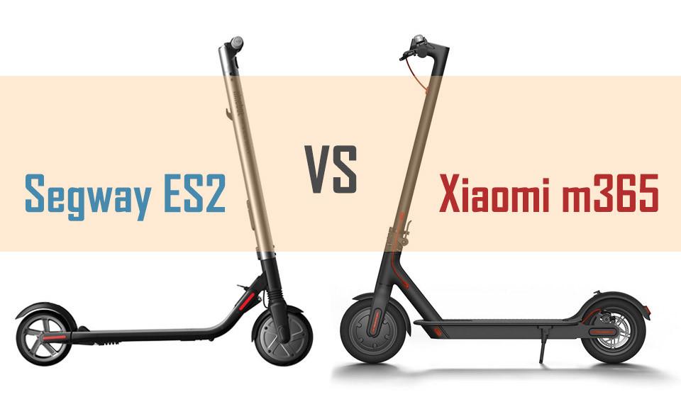 Elektrinis paspirtukas Ką pasirinkti Xiaomi Mijia M365 ar Segway-Ninebot ES2